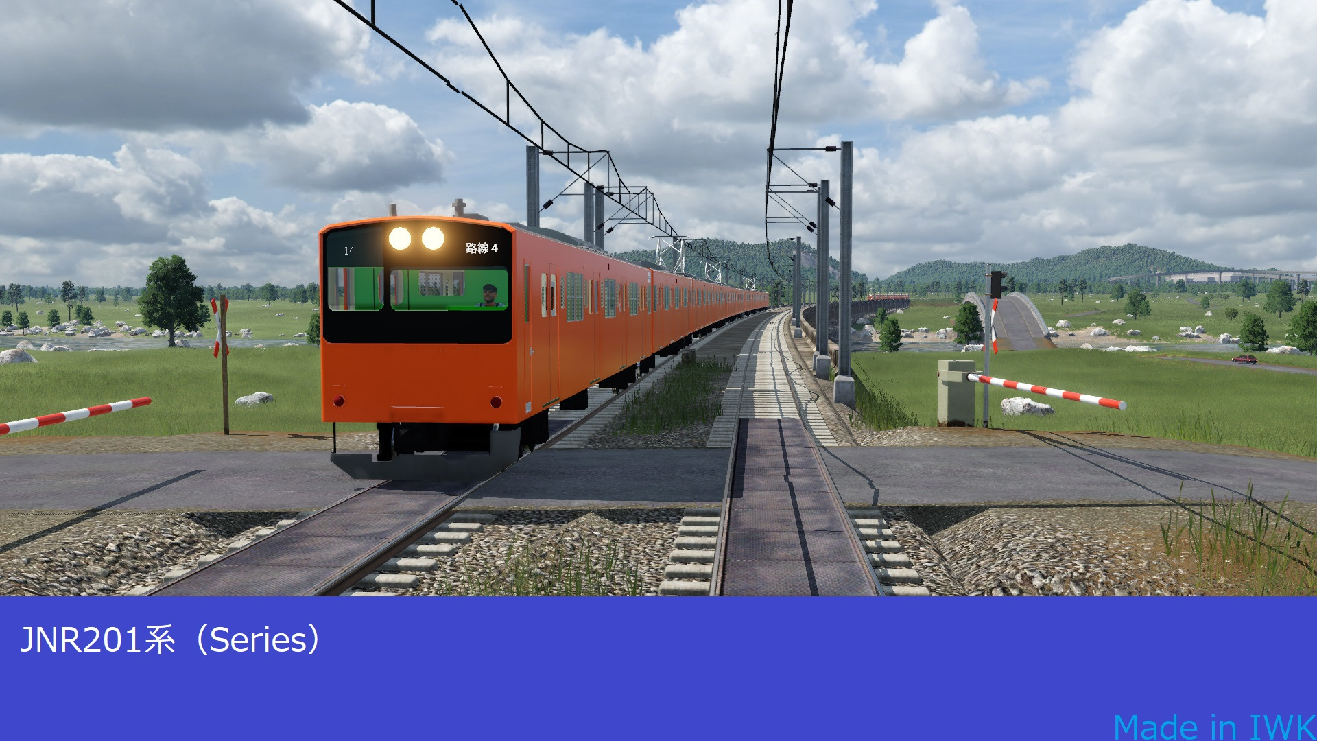 Transport Fever 2 - 201 Series (Made in IWK)