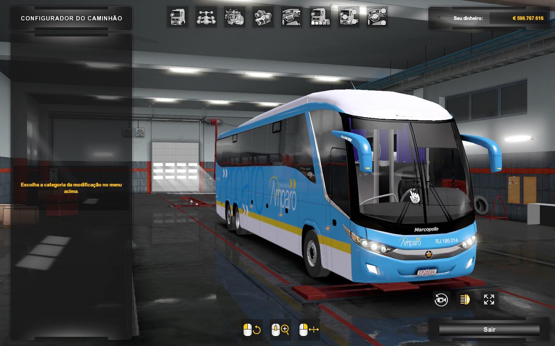 ETS2 - Marcopolo G7 1200 Facelift V2.3 (1.36.x)