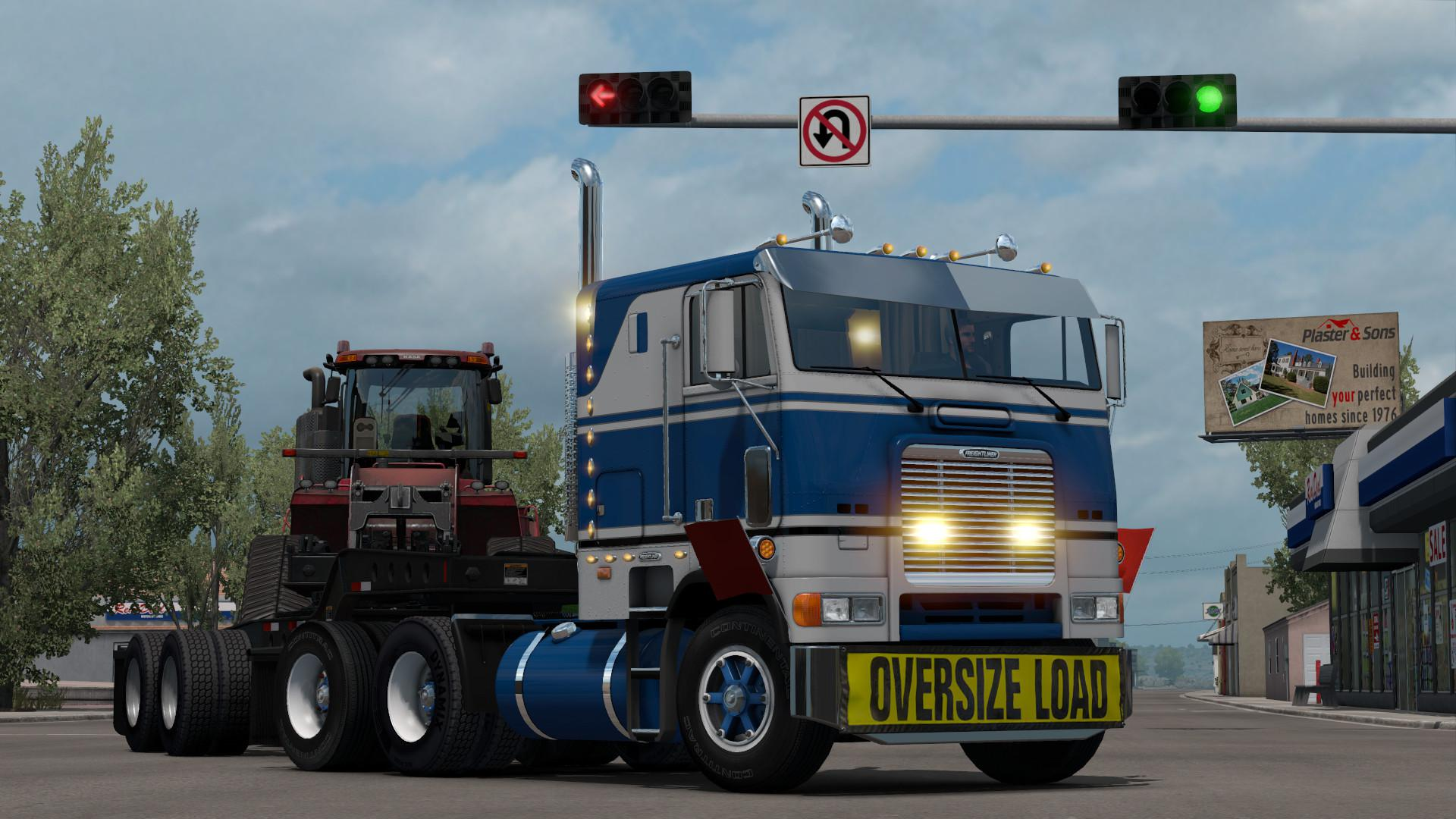 ATS - Freightliner FLB Truck V2.0.9 Fixed (1.39.x)