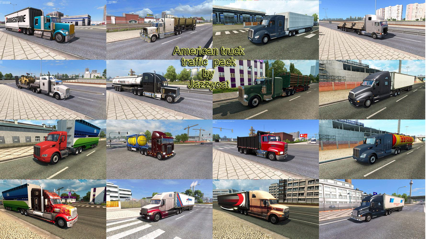 ETS2 - American Truck Traffic Pack V2.3 (1.38.x)