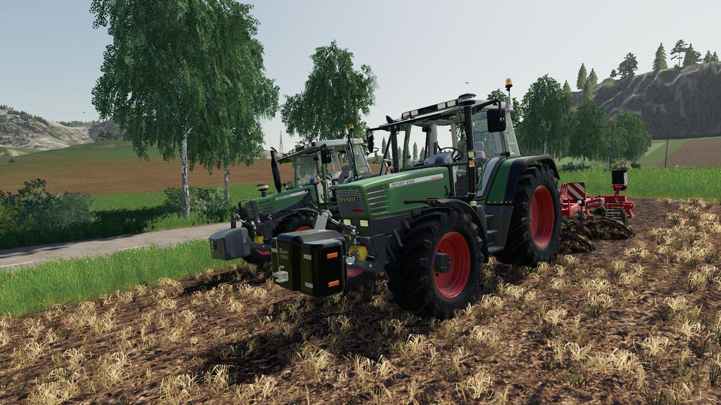 FS19 - Fendt Favorit 51X Tractor V6.0