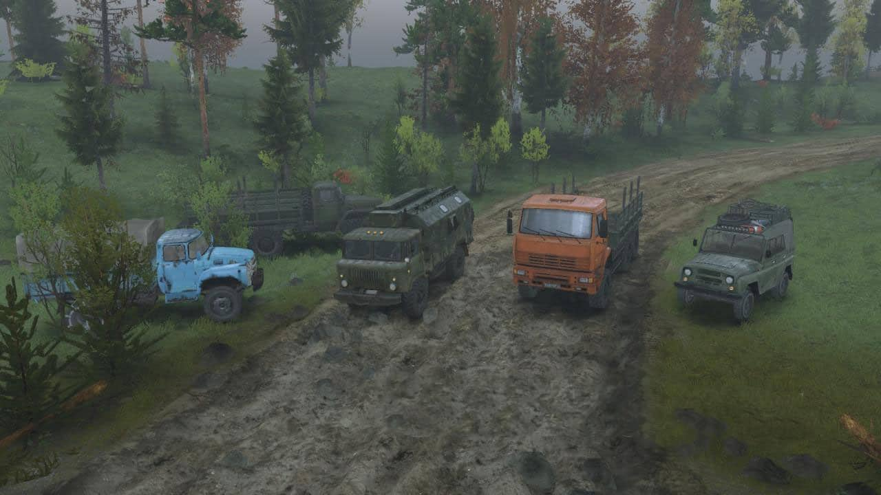 Spintires - Ural Brodny Map V1.0