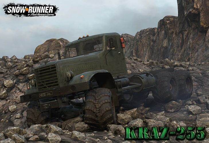 SnowRunner - Kraz 255 Truck