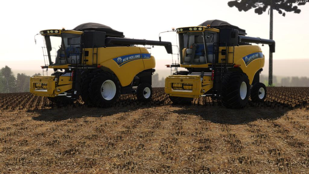 FS19 - New Holland CR5080 Harvester V1.0