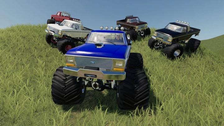 FS19 - Monster Truck V1.0