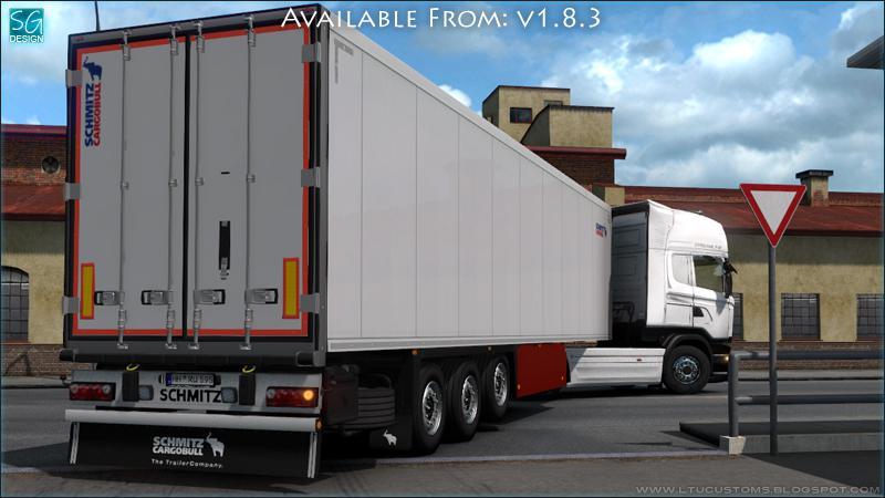 ETS2 - SCS Trailer Tuning Pack V1.8.3 (1.39.x)