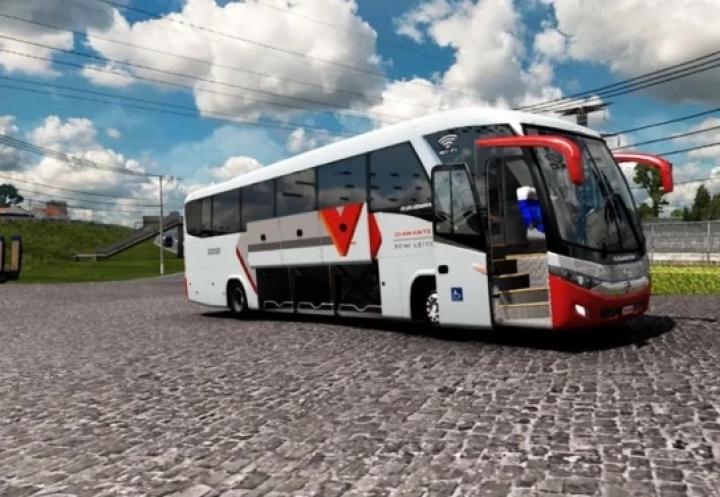 ETS2 - RG Scania Hino 4x2 + Brazilian Skins (1.40.x)