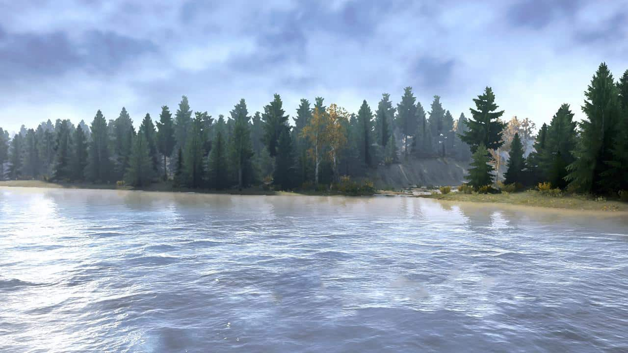 Spintires:Mudrunner - There Was Nothing to do Map V05.10.19