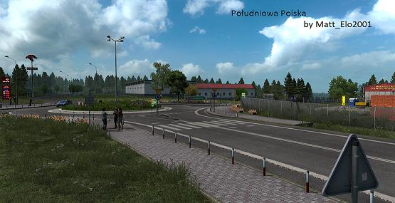 ETS2 - Southern Poland Map V1.2 (1.39.x)