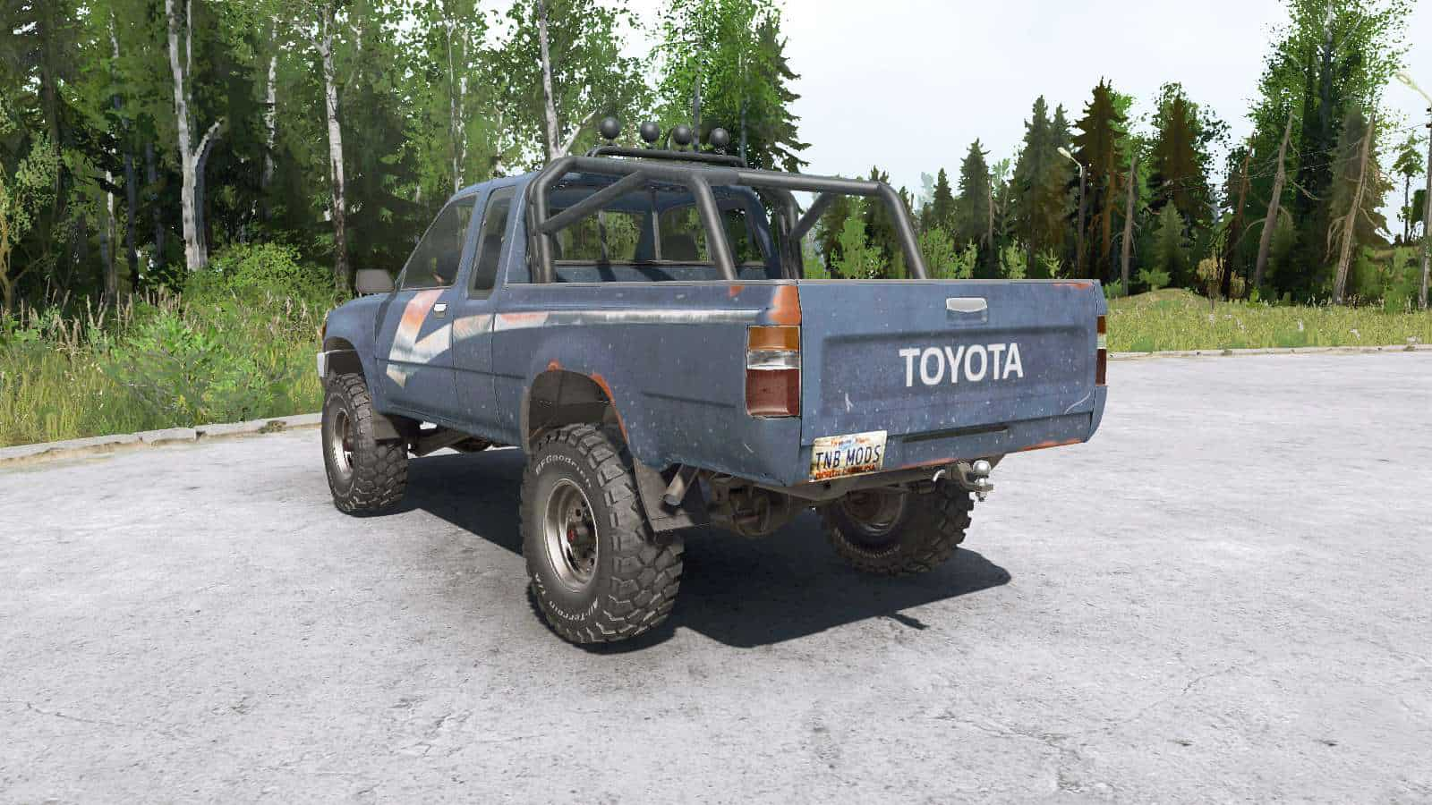 Spintires:Mudrunner - Toyota Hilux Xtra Cab 1989