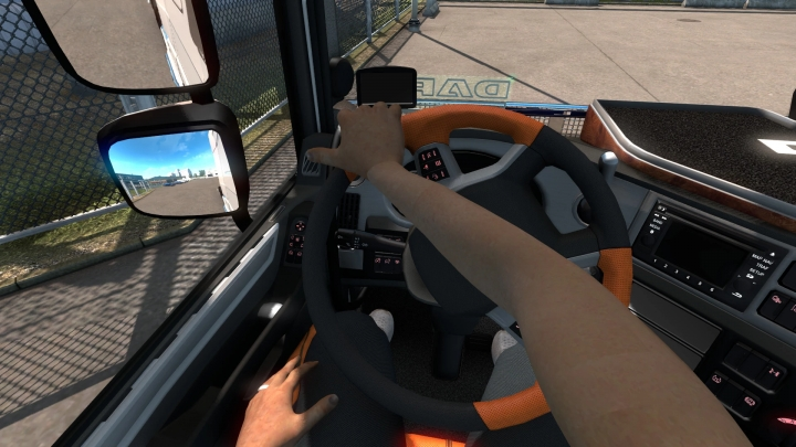 ETS2 - Animated Hands without Tattoos V1.11 (1.41.x)