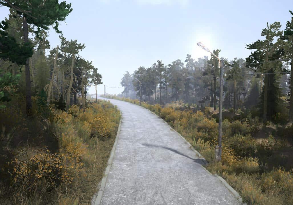Spintires:Mudrunner - Maps Somewhere in Pripyat 2 Map V12.09.18