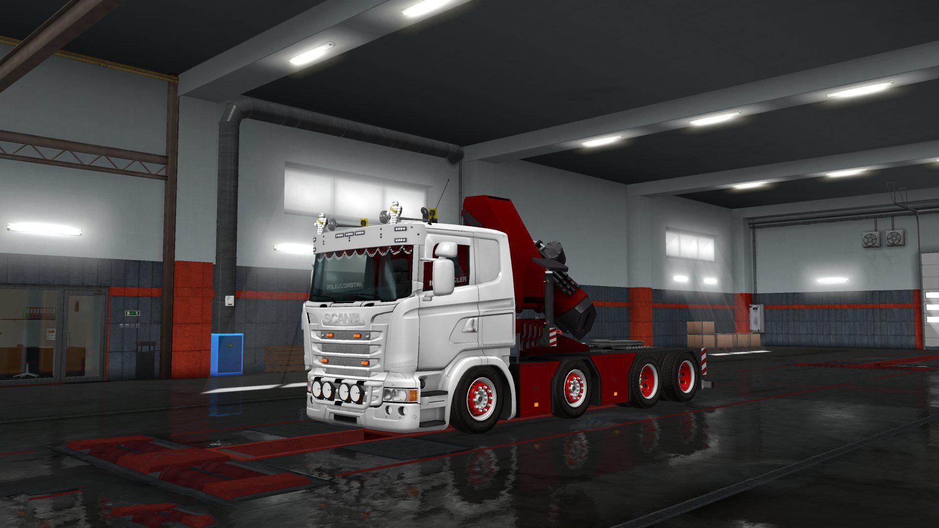 ETS2 - Scania Rjl Crane V2.0 (1.35.X)