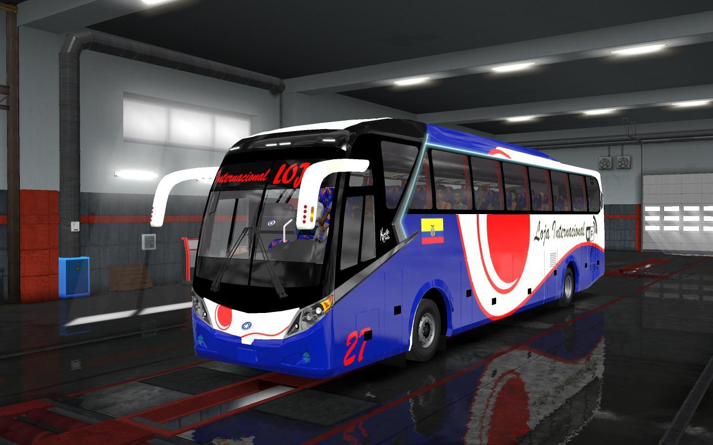 ETS2 - Scania JGB Majestic Bus Mod (1.35.x)