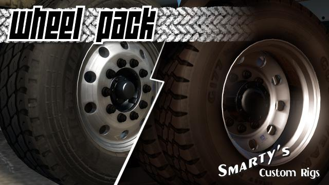 ATS - Smartys Wheel Pack V1.3.2 (1.36.x)