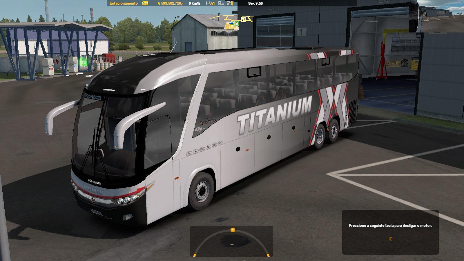 ETS2 - Bus G7 1200 Mexico Facelift 2.5 (1.36.X)
