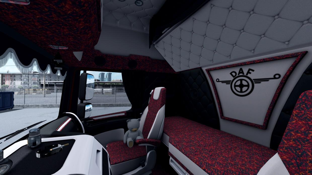 ETS2 - Daf XF 106 Holland Style Red Interior (1.36.x)