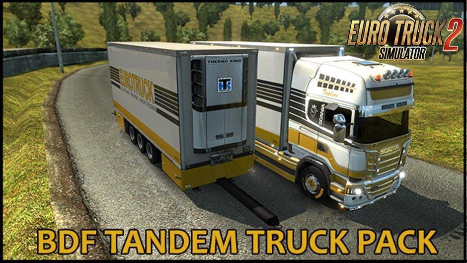 ETS2 - BDF Tandem Truck Pack V1.39.0 (1.38.x)
