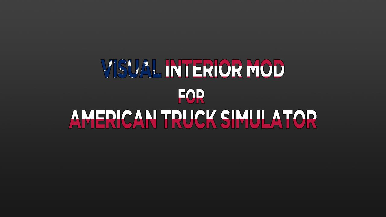 ATS - Visual Interior Mod V1.0 (1.37.x)