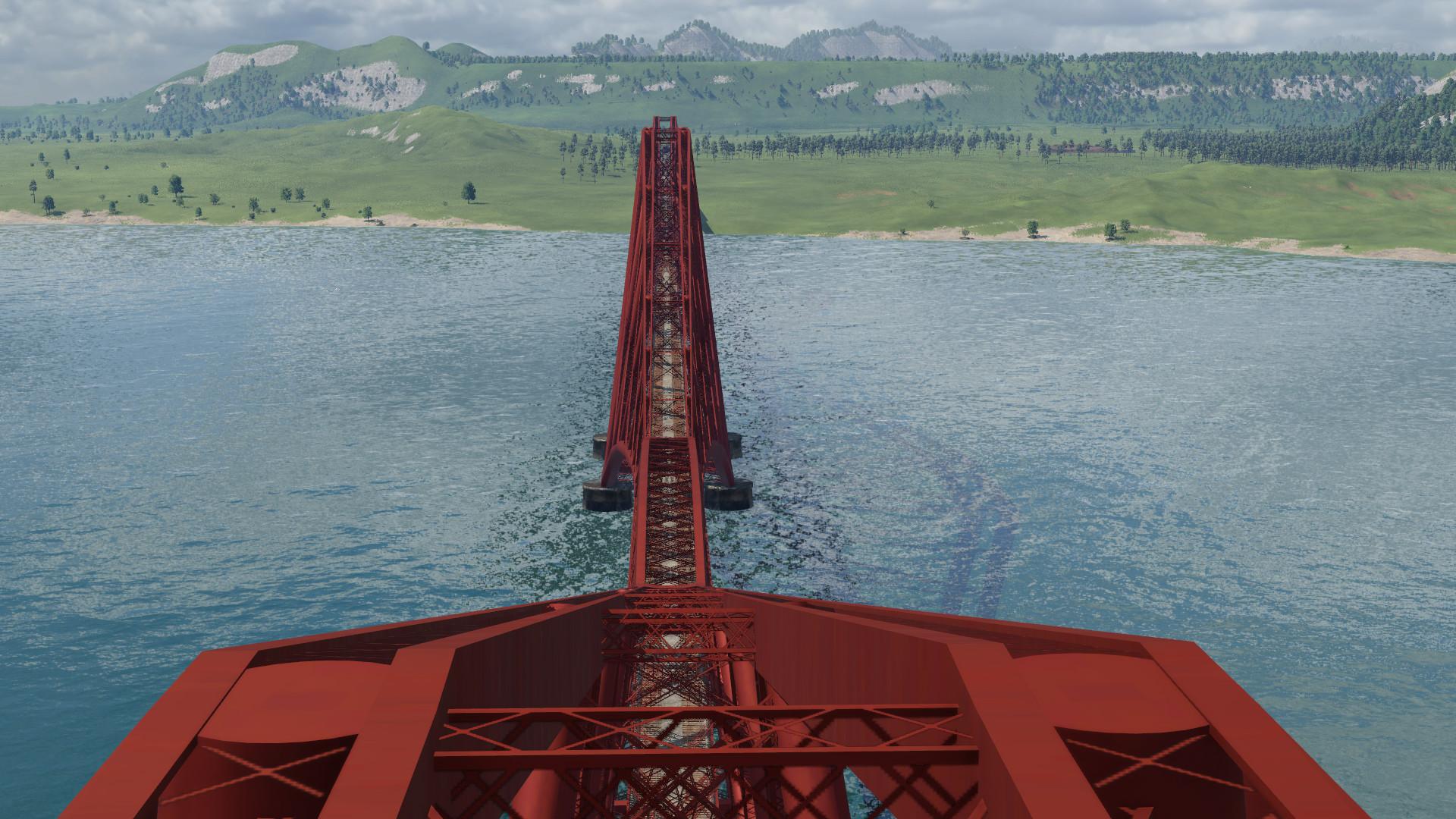 Transport Fever 2 - Forth Rail Bridge