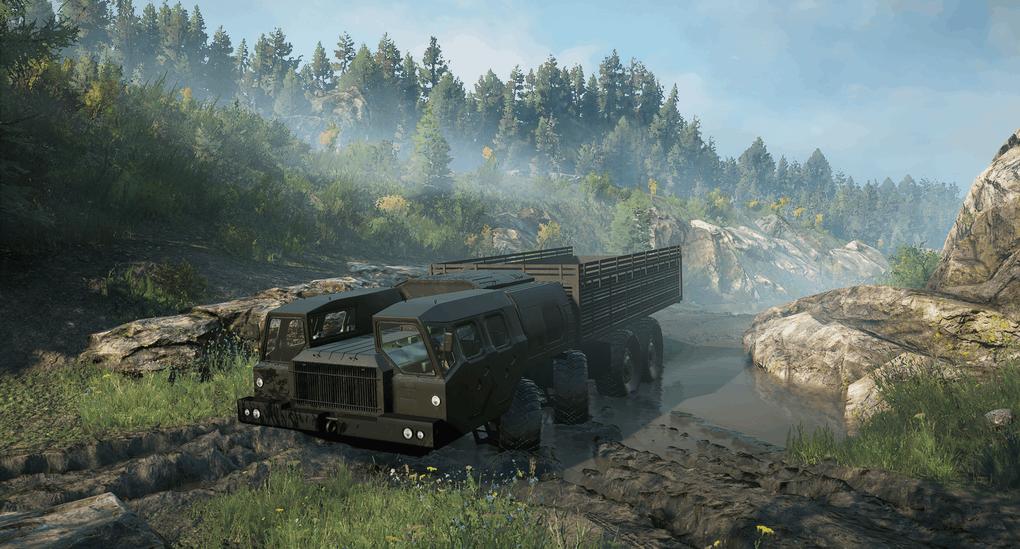 SnowRunner - Maz 543 Truck V1.0.1