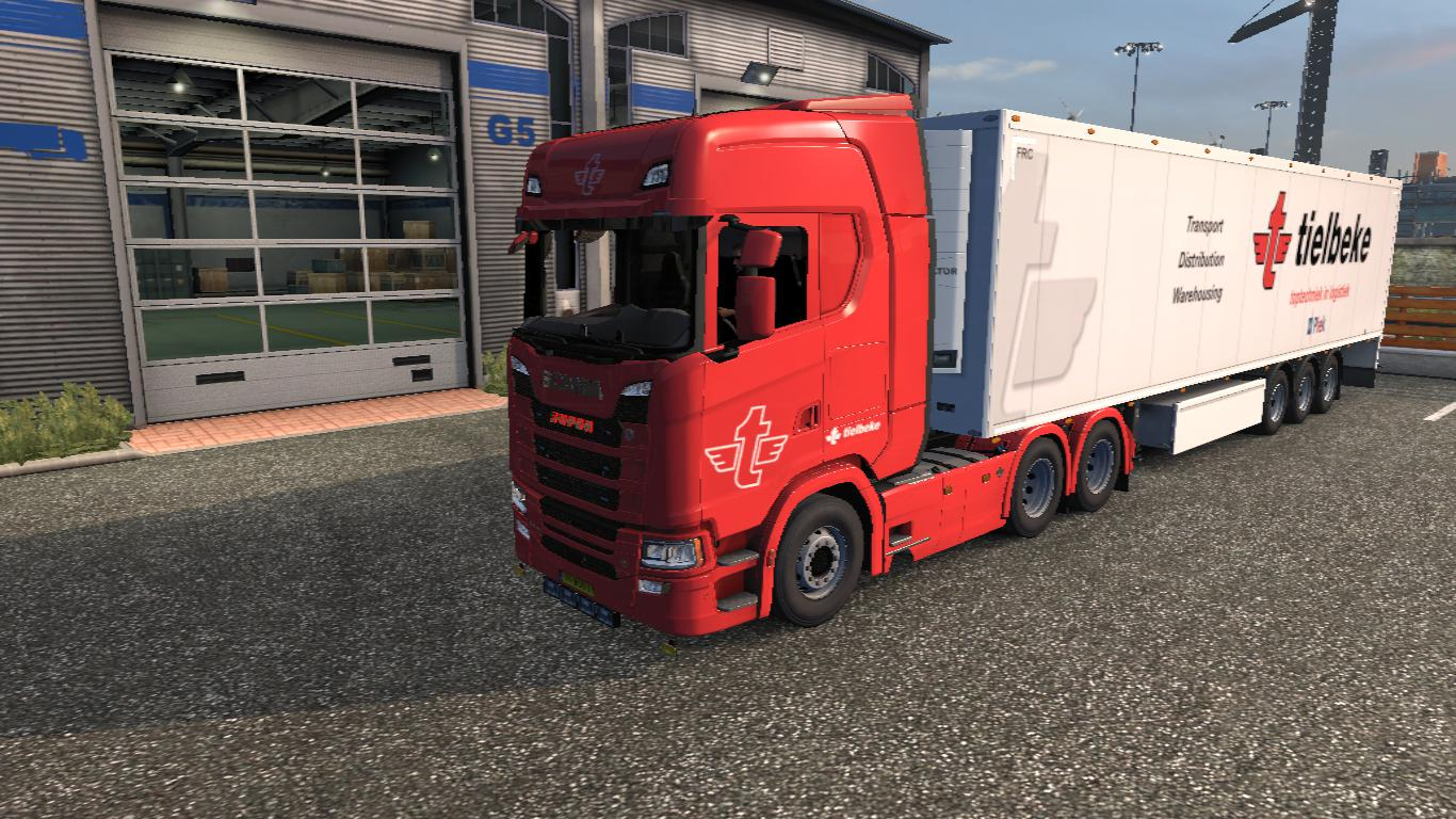 ETS2 - Tielbeke Next Gen S And Owner Trailer Skin (1.35.X)