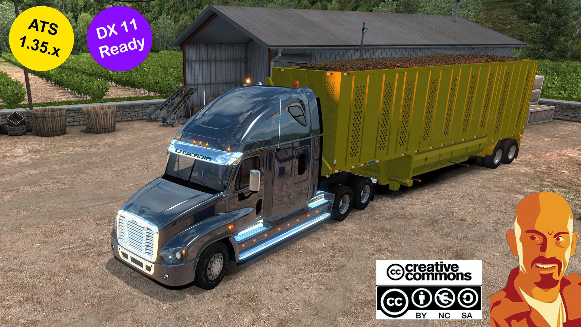 ATS - Freightliner Cascadia Truck (1.35.X)