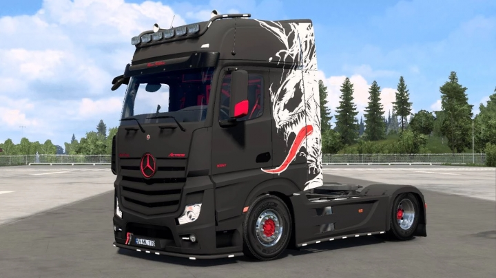 ETS2 - Mercedes MP4 MatLine (1.40.x)
