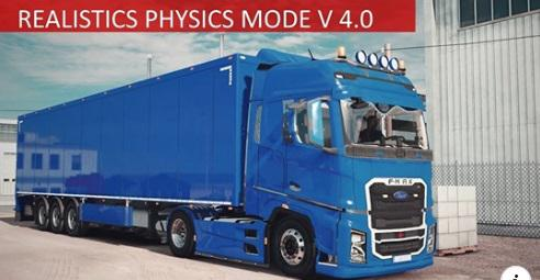 ETS2 - Incredible Realistic Physics Mod V4.1 (1.36.x)