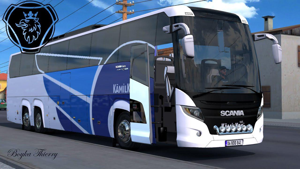 ETS2 - Scania Touring R30 Bus Mod (1.37.x)