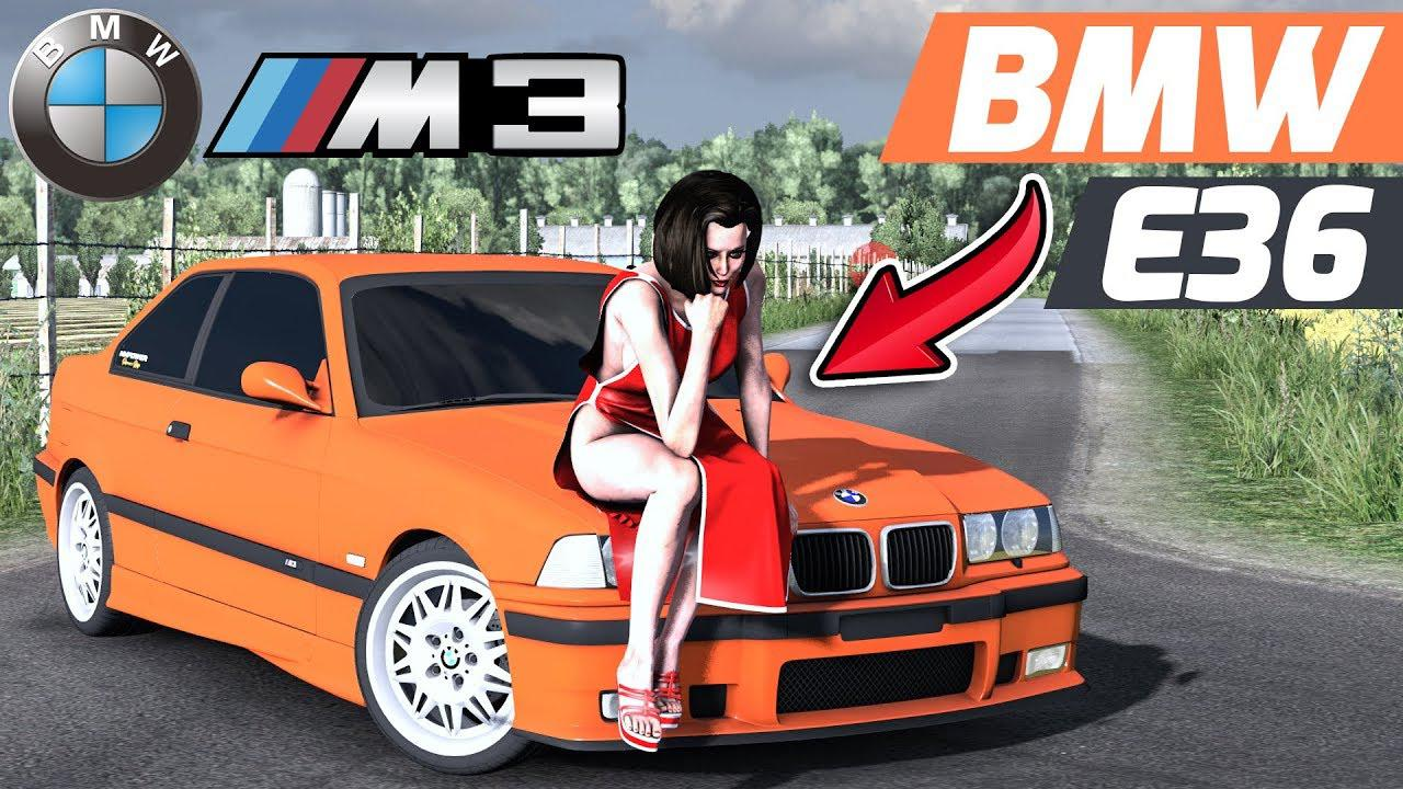 ETS2 - BMW E36 Unlocked Version (1.37.x)