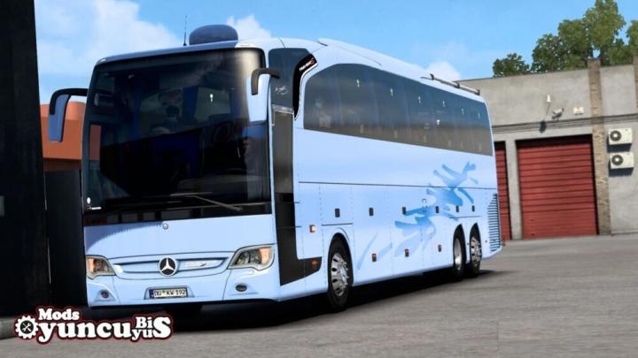 ETS2 - Mercedes Travego S Edition-17Shd Megamod (1.40.x)