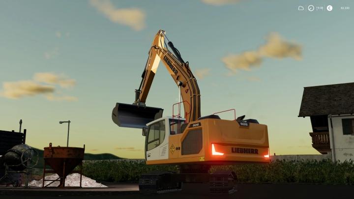 FS19 - Liebherr R-926 Crawler Excavator V1.0