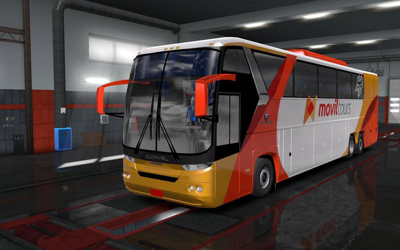 ETS2 - Scania Comil 345 Bus Mod (1.35.X)