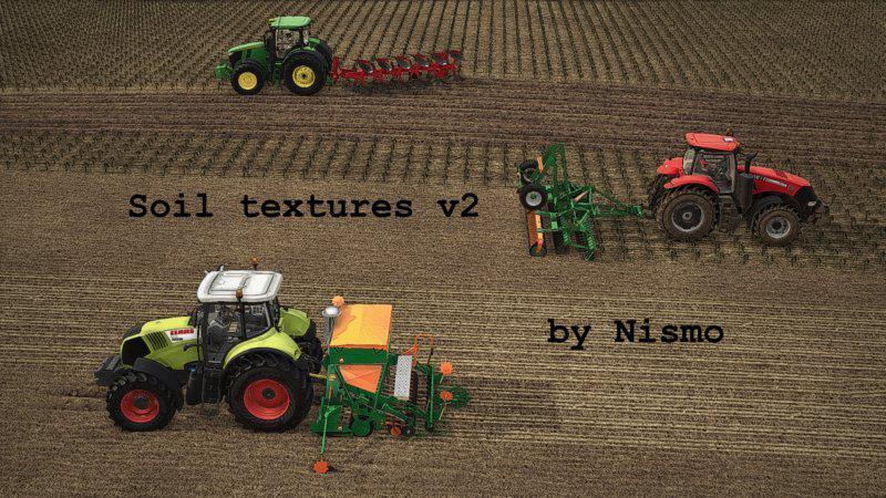 FS19 - Soil Textures V2.0