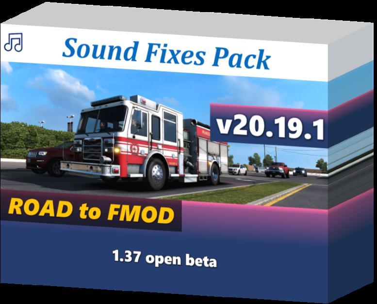 ATS - Sound Fixes Pack V20.19.1 (1.37.x)