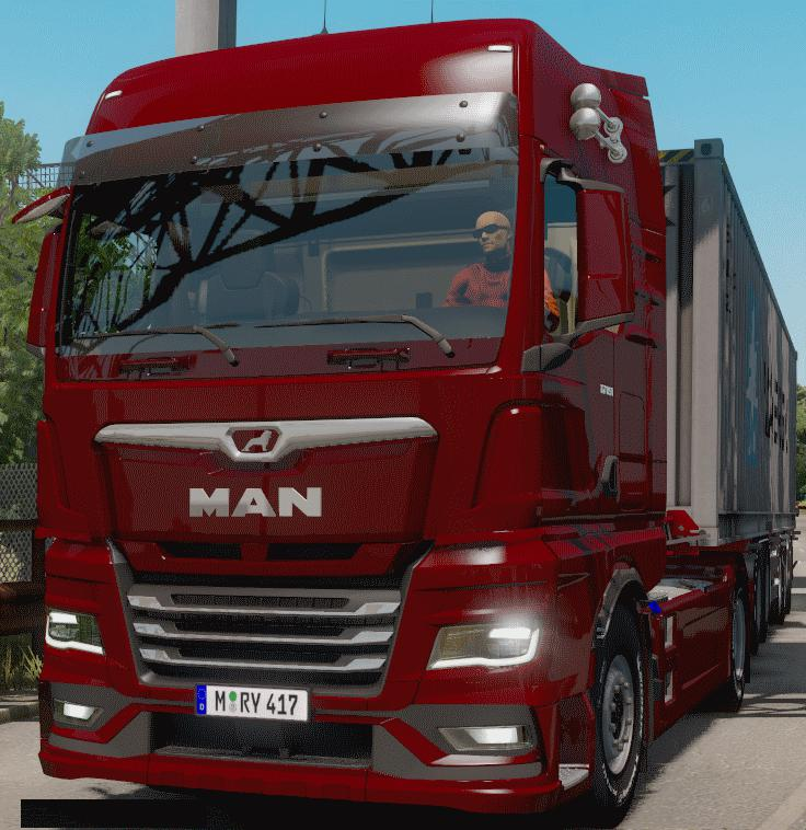 ETS2 - Man Tgx 2020 and Iveco S-Way (1.38.x)