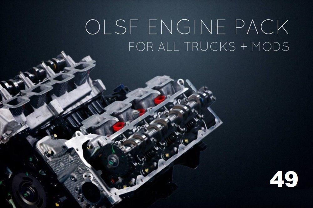 ETS2 - Engines Pack 49 for All Trucks (1.38.x)