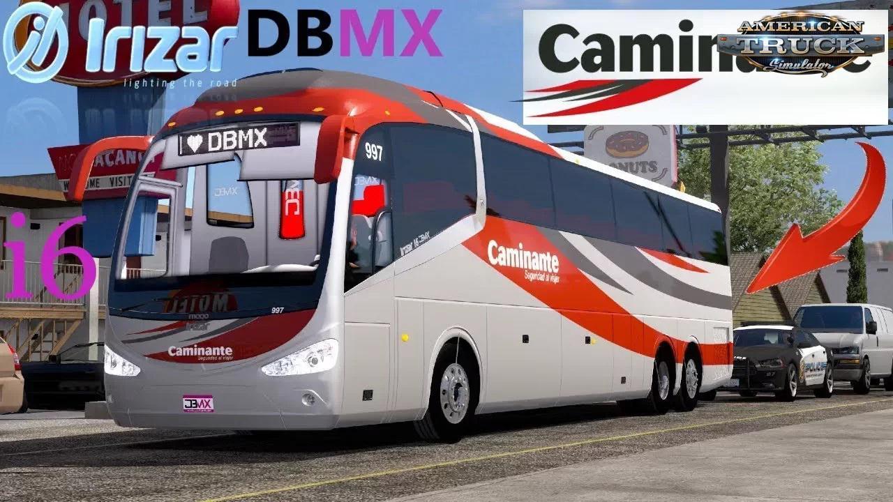 ATS - Bus Irizar i6 + Interior V1.5 (1.36.x)
