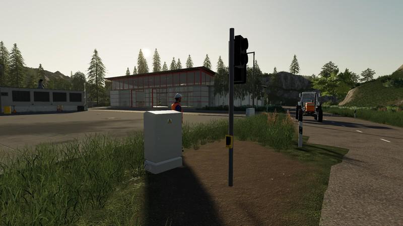 FS19 - Platzierbare Ampel Beta