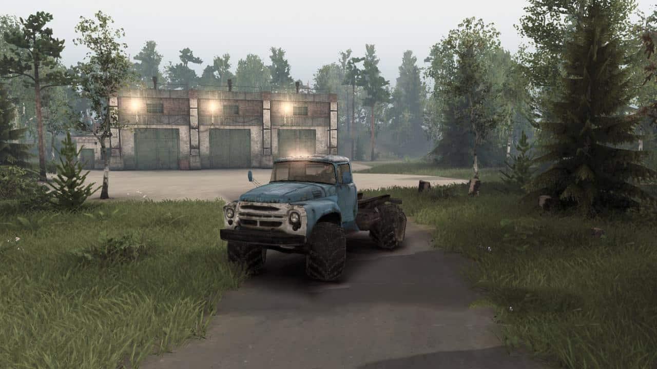 Spintires - Zil 130M Truck V1.0