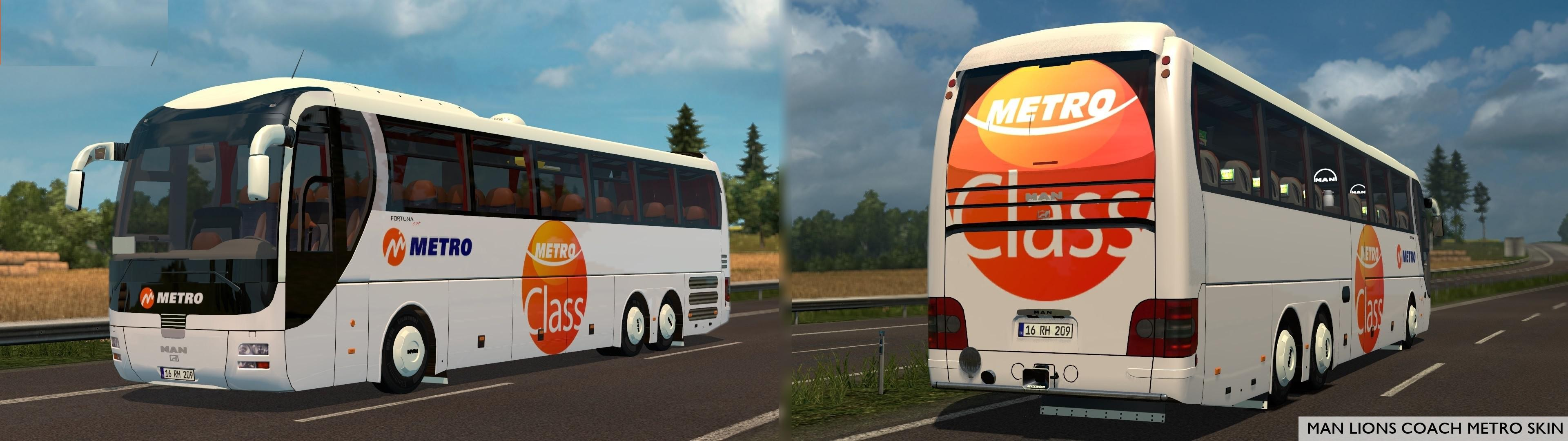 ETS2 - Man Lion Coach (1.37 - 1.38)