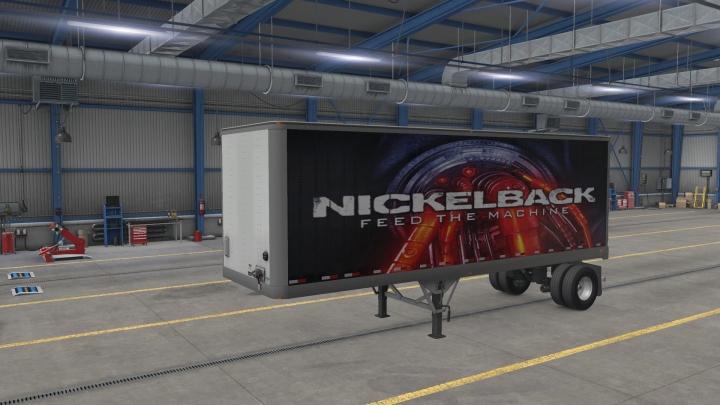 ATS - Nickelback Feed The Machine V1.1 (1.41.x)