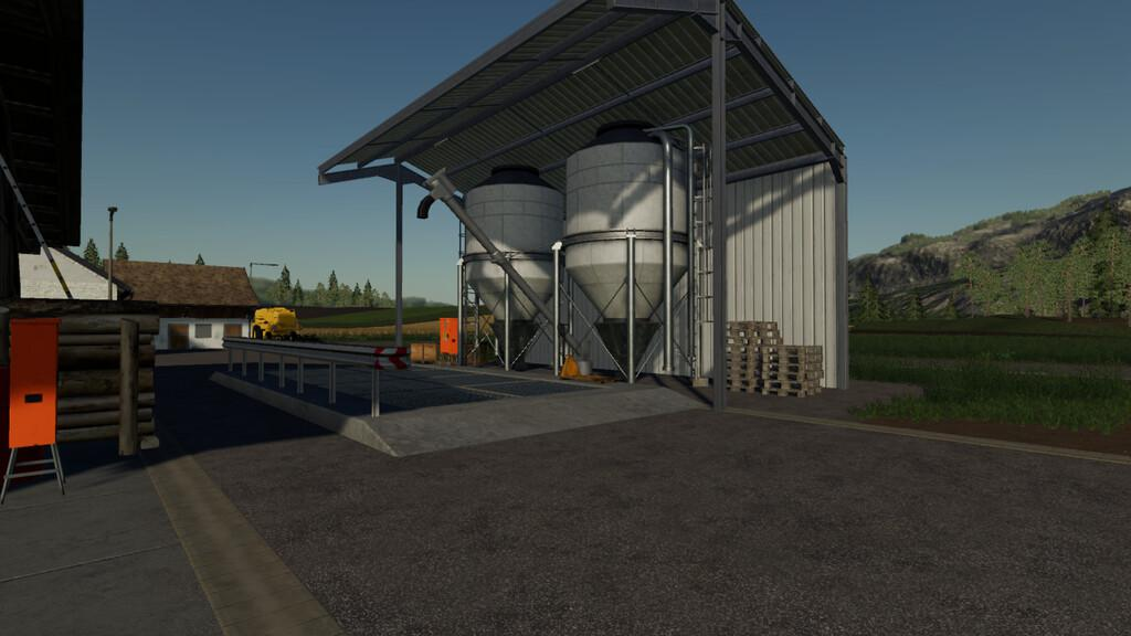 FS19 - Placeable Farmsilo V1