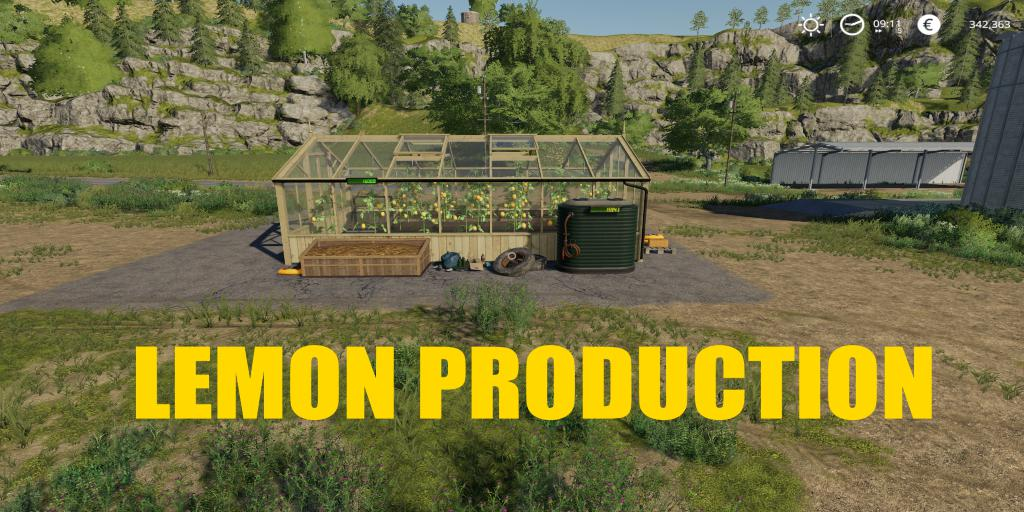 FS19 - Lemon Production V1.0.5