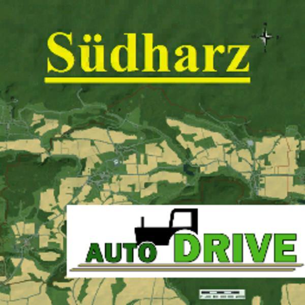 FS19 - Autodrive Courses South Harz Map V1.2.2