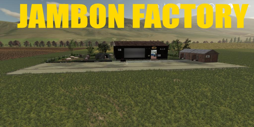 FS19 - Placeable Jambon V1.0