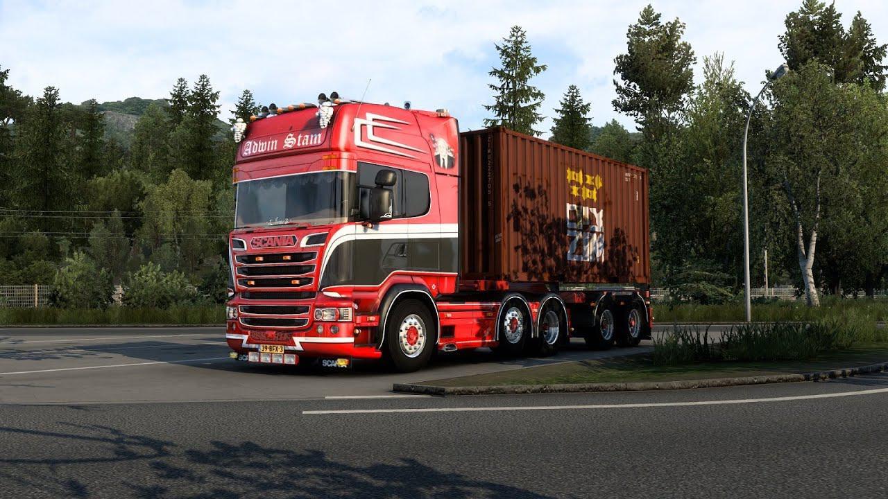 ETS2 - Scania V8 Sound Mod V11.5 (1.40.x)