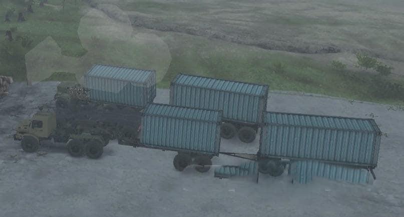 Spintires - Truck-Transformer 10x10 V1