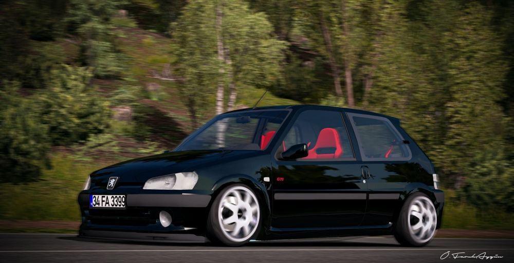 ETS2 - Peugeot 106 GTI + Varex Sound (1.39.x)